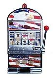 Star Spangled Eagle Flag Slot Machine Bank