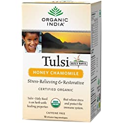 Organic India Tulsi - 25 Tea Bags (Honey Chamomile)