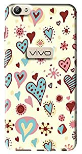 FCS Printed Soft Silicone Back Cover for Vivo Y66 Pattern -201