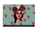 Bright Ideas Retro Beautiful Girl Laptop...