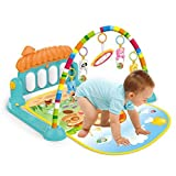 Toyshine Happy Baby's Playmat Gym with Toys, Made of Non Toxic Materials