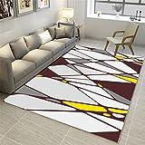 CHAI Wohnzimmer 3D Printing & Draping Dekorative Teppich Matte Nordic Einfachen Stil Rechteckigen Teppich Schlafzimmer Rutschfeste Teppich Kinderteppich Teppich Teppiche (Größe : 180x250cm)