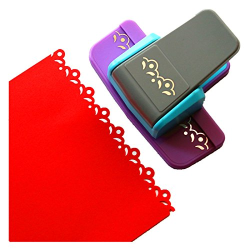 CADY Craft Punch New Fancy Border Punch Prägestanzer Scrapbook Edge für Paper Cut Papier Punch 5 (Border Craft Punch)