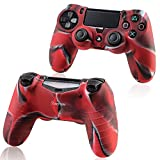 Insten Pythons Protective Case For Sony Playstation 4 Ps4 Controller Camouflage Color
