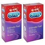 2 x Durex Intimate Elite Feel Condom...