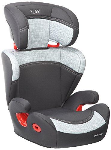 Play Safe Two Plus - Silla de coche, grupo 2-3, color gris