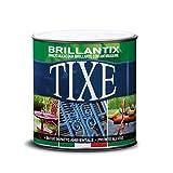 TIXE 610501 Brillantix Smalto Gel Antiruggine all'Acqua, Vernice, Bianco Lucido, 10x10x20 cm