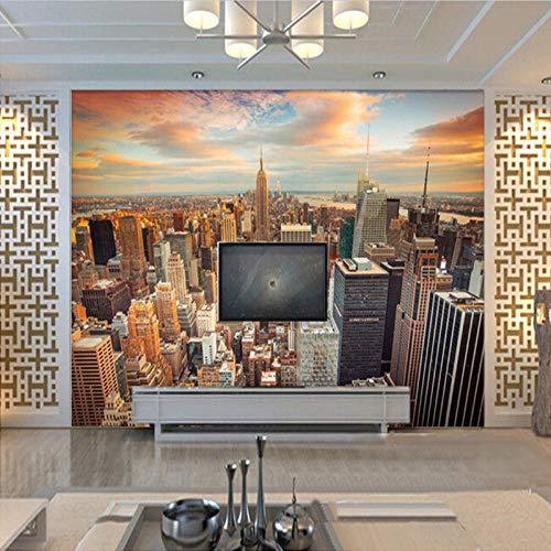 3D tapete Wandbilder Benutzerdefinierte USA Wolkenkratzer New York City Gebäude Wandmalerei Schlafzimmer Wohnzimmer Sofa Tapeten Wohnkultur 300x210cm Usa Dessert