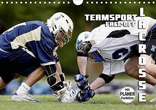 Teamsport Lacrosse - Face-off (Wandkalender 2020 DIN A4 quer): Packende Spielszenen aus der Welt des Lacrosse (Geburtstagskalender, 14 Seiten ) (CALVENDO Sport) (La Postkarte Crosse)