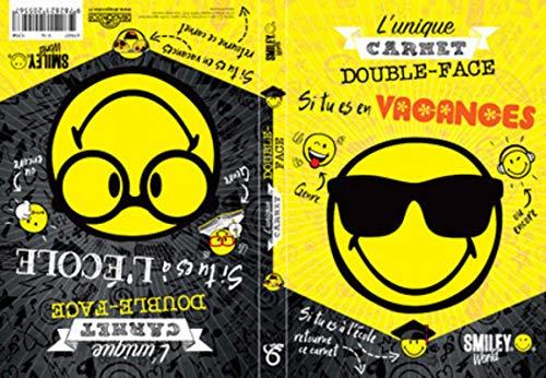 Smiley - L'unique carnet double-face école/vacances par SMILEYWORLD