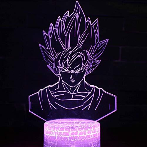 Nachtlampe Sieben Dragon Bead Serie 3d Nachtlampe Usb Touch Fernbedienung Bunte Visuelle Lampe Kreative Geschenk-tisch-lampe Eine -