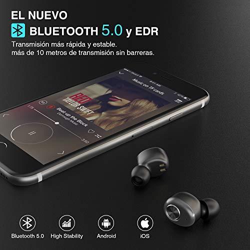 8e57e006a25 ... Auriculares Bluetooth, ENACFIRE E18 Auriculares Inalámbricos Bluetooth  Mini Twins Estéreo In-Ear Bluetooth 5.0 ...