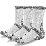 YUEDGE 3 Paar Damen Wandersocken Atmungsaktive Sport Socken Trekkingsocken für Outdoor-Aktivitäten (L)