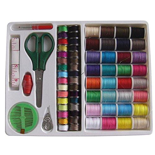 Preisvergleich Produktbild Tinksky Nähen-Tools Kit Handarbeiten-Box-Set für inländische Nähmaschine, 100 Stck.