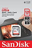 SanDisk Ultra 128 GB SDXC Class 10 Memory Card up to 80 Mbps
