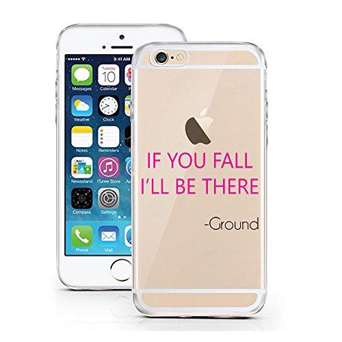 iPhone 5 5S SE Hülle von licaso® für das Apple iPhone 5S aus TPU Silikon Ein bisschen Dick is nicht so slim! Vögelchen Dickie Muster ultra-dünn schützt Dein iPhone 5SE & ist stylisch Schutzhülle Bumpe I'll be there - Ground