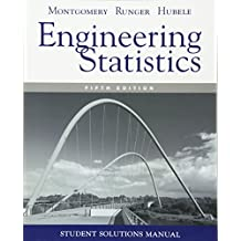Engineering Statistics: Student Solutions Manual