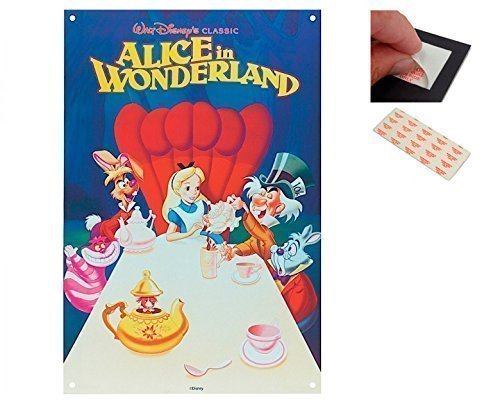 bundle-2-items-alice-in-woderland-classic-walt-disney-30-x-42-cms-12-x-16-inches-and-a-set-of-4-repo