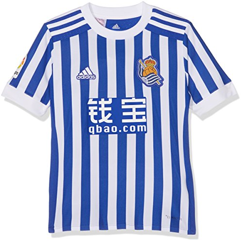 Adidas RS H JSY Y Camiseta de Equipación, Niños, Azul (azufue), 152-11/12 años