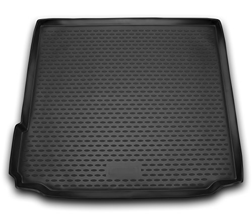 AD Tuning TMP12015 Passform Kofferraumwanne, Anti-Rutsch Oberfläche, schwarz