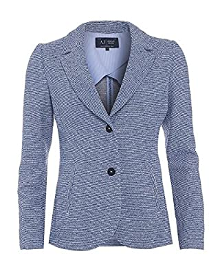 Armani Jeans Boucle Blazer Light Blue