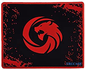 Trucase (TM),T-35,Anti-Skid Speed-Type Gaming Mousepad,Hand Stitched,Washable 30cm X 25cm