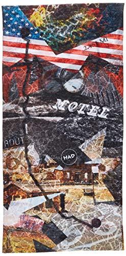 HAD® Écharpe Collier Homme Route, Multicolore, Taille Unique