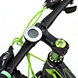 Écran LCD lumineux vélo ordinateur sans fil cyclisme compteur kilométrique pour suivre la vitesse et la distance de conduite