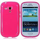 Licht Rot Telefon Beschützer Schutzhülle Abdeckung Fall Schale Zubehör Hülle Cover Case für Samsung Galaxy S3 Mini SIII Mini S III Mini I8190 (es passen nicht S3)