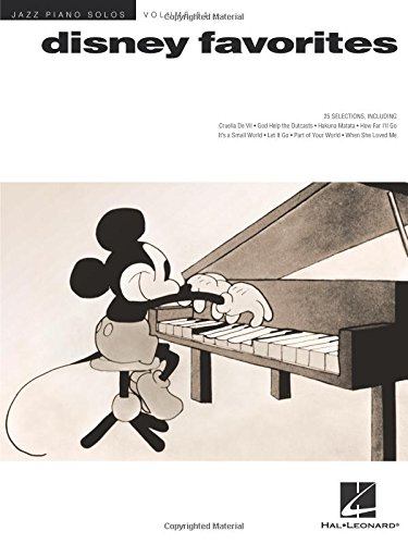Disney Favorites: Jazz Piano Solos Series Volume 51: Noten, Sammelband für Klavier (Disney Piano Songbook)