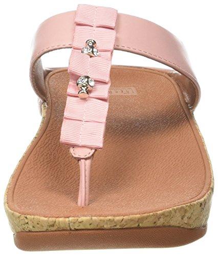 Sandali Punta Aperta Donna Pink (rosa Oscuro) Sandali Punta Aperta Donna Pink