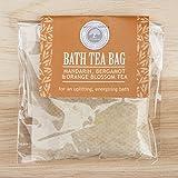 Mandarin Bergamot and Orange Blossom Bath Tea Bag by Wild-Olive Ltd