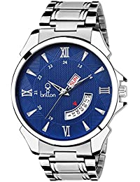 BRITTON Day and Date Display Analogue Blue Dial Men's Watch -BR-GR192-BLU-CH