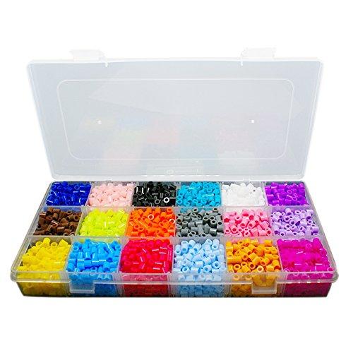 pandahall-lot-de-3500pcs-boite-environ-18-couleur-aleatoire-pe-melty-perle-a-repasser-perles-fusible