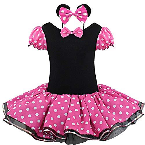 FONLAM Vestido Disfraz de Princesa Fiesta Actuación Niña Bebé Vesti