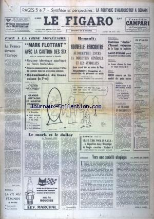 FIGARO (LE) [No 8289] du 10/05/1971
