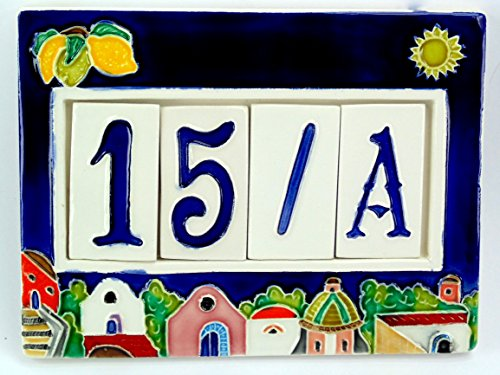 numeri-civici-cornice-in-ceramicapiastrellenumero-civico-mattonella-4-postiattenzione-i-colori-dei-s