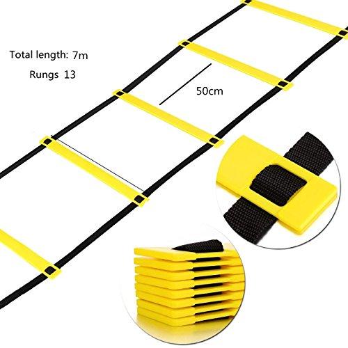 kry-calcio-pace-ancheer-formazione-regolabile-agilita-yellow-ladder-salto-lattice-velocita-energia-s