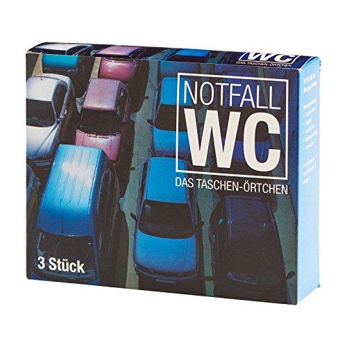 Preisvergleich Produktbild 3 STÜCK PAKET REISE WC NOTFALLWC URINBEUTEL WEGWERFURINAL EINMALTOILETTE NOT TOILETTE LKW PKW