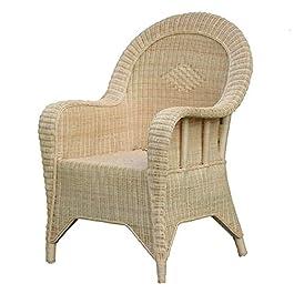 YMXLXL Chaise en Rotin TisséE à La Main, Chaise en Bambou Naturel, Fauteuil, Fauteuil, Balcon, Chaise De Bureau, Chaise…