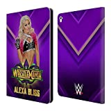 Head Case Designs Offizielle WWE Alexa Bliss Wrestlemania 34 Superstars Brieftasche Handyhülle aus Leder für iPad Pro