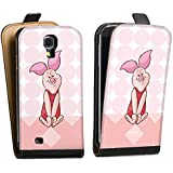 Samsung Galaxy S4 mini Tasche Hülle Flip Case Disney Winnie Puuh Ferkel Fan Article Merchandise