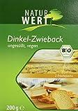 Naturwert Bio Dinkel Zwieback, 6er Pack (6 x 200 g)