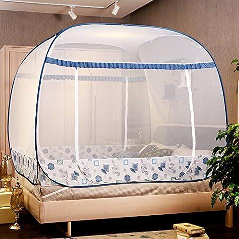 Reise Moskitonetz Mosquito Netz–Mosquito Bildschirm Double Door Moskitonetz Zelt großen Raum Moskitonetz Baldachin tragbar Moskitonetz