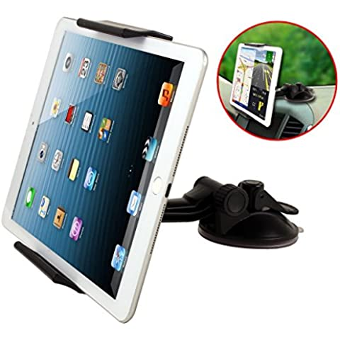 2 in 1 Tablet Stand for Car headrest Dashboard Windshield