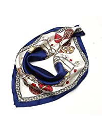 Yarmy Mesdames Les écharpes en Soie en Soie Soie Foulards Foulard 53 cm   53  cm 0064172924d