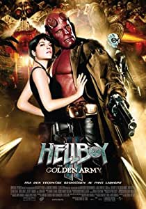 Hellboy 2: The Golden Army Affiche du film Poster Movie Hellboy 2: L'armée d'or (11 x 17 In - 28cm x 44cm) Norwegian Style A