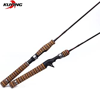 Kuying Teton 1.9 m UL Lure Carbon Casting Fishing Rod with