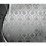 murando - Fototapete 50x35 cm - Vlies Tapete - Moderne Wanddeko - Design Tapete - Wandtapete - Wand Dekoration - Ornament silber schwarz weiß gold blau f-A-0069-a-b