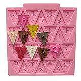 Art Kitchen Baby Shower Wimpelkette Flaggen Party 3D Silikon Form Fondant Kuchen Dekoration Topper